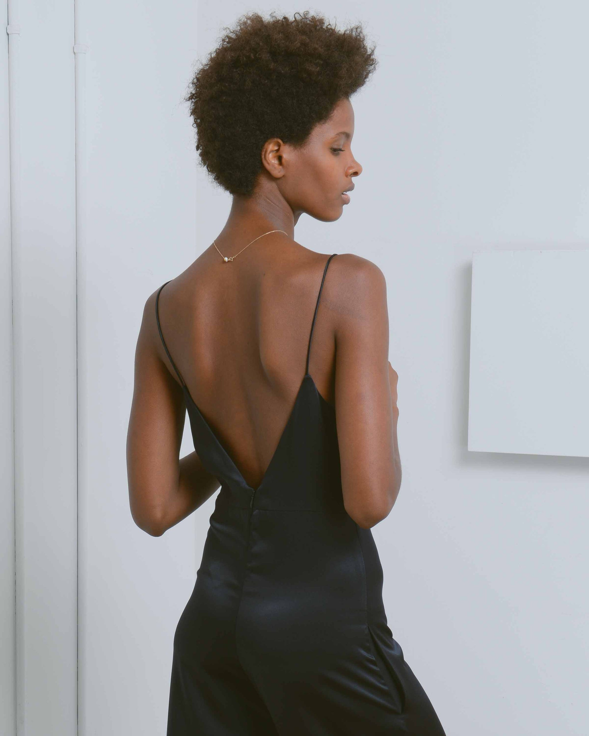 Black Veronica Jumpsuit