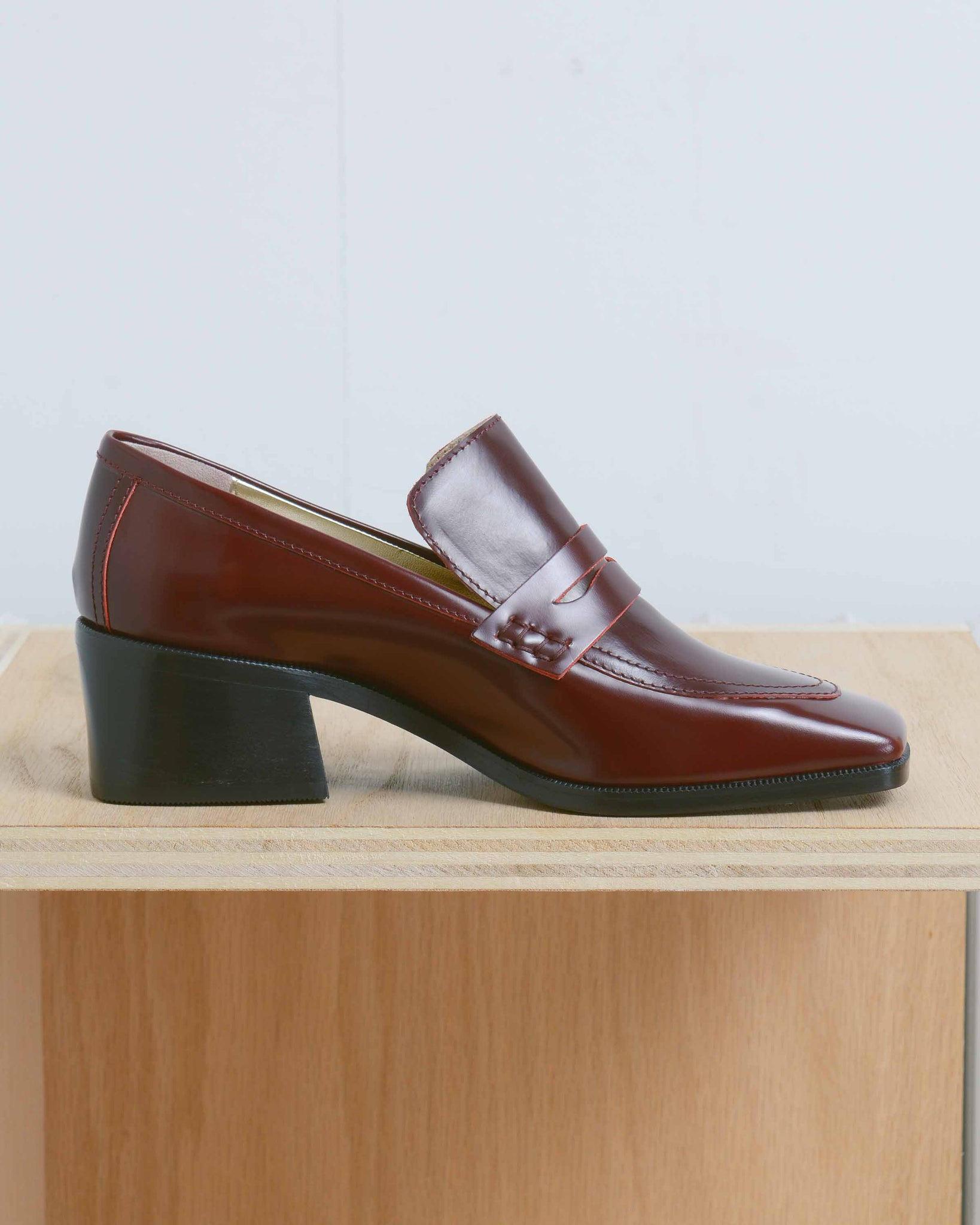 Oxblood Loafer