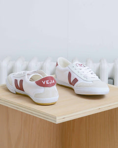 White Marsala Volley Sneakers