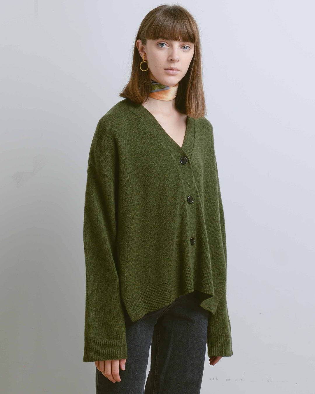 Winter Moss Theo Cardigan