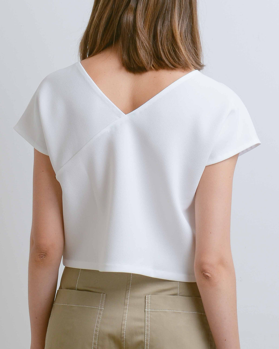White Adlay Top