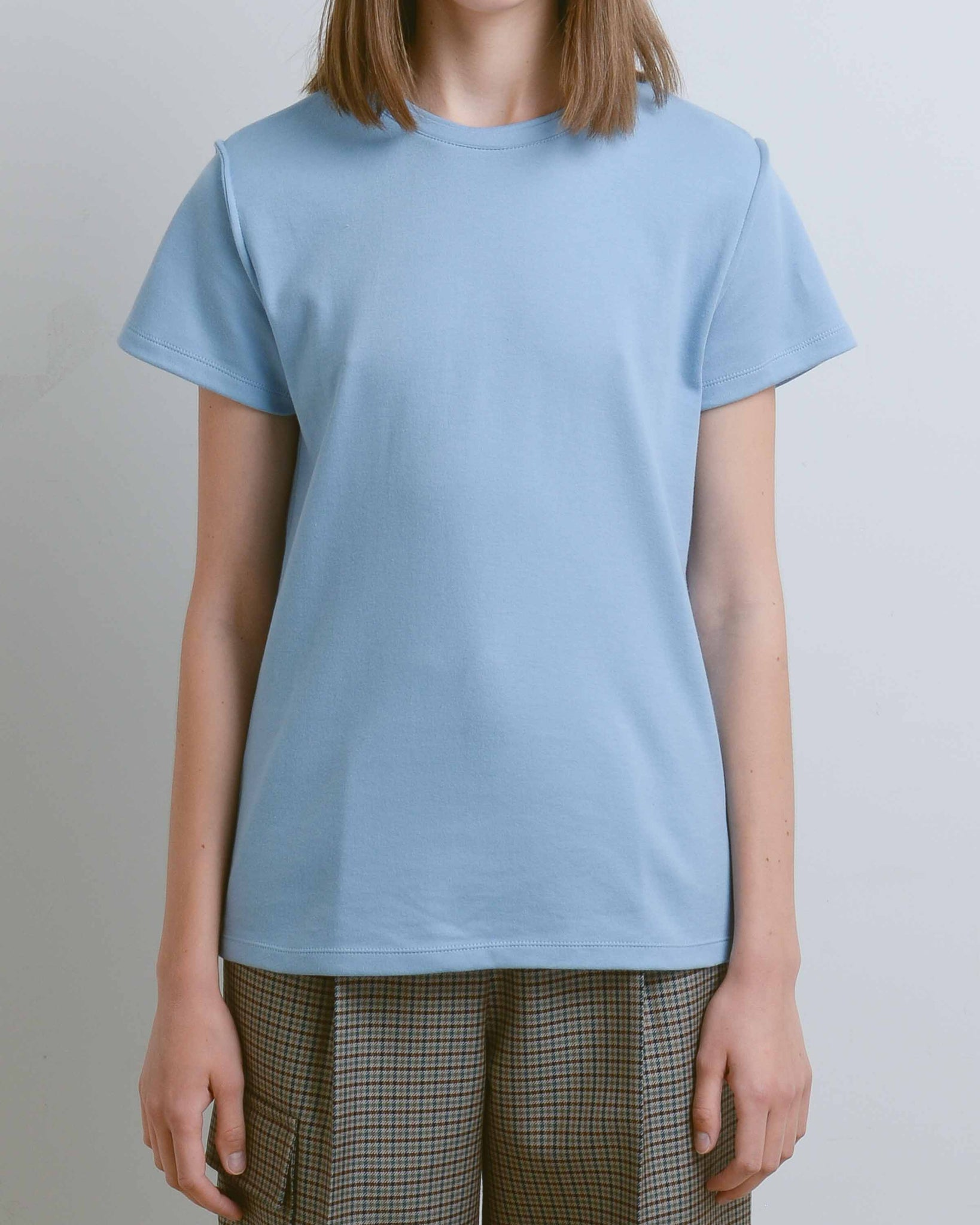 Light Blue Tee Without Text