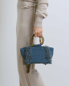 Denim Wool Corallina Bag