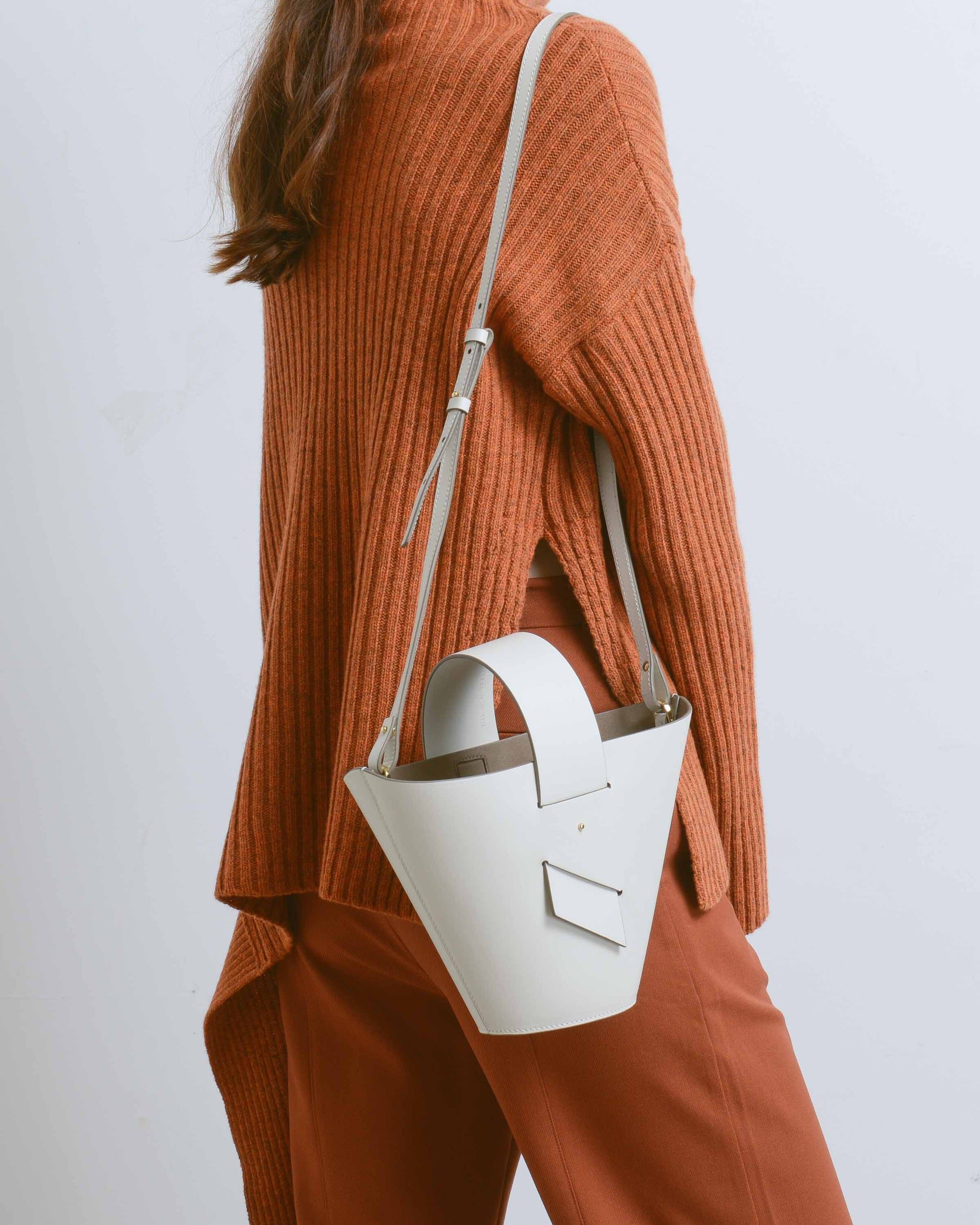 White Amphora Bag