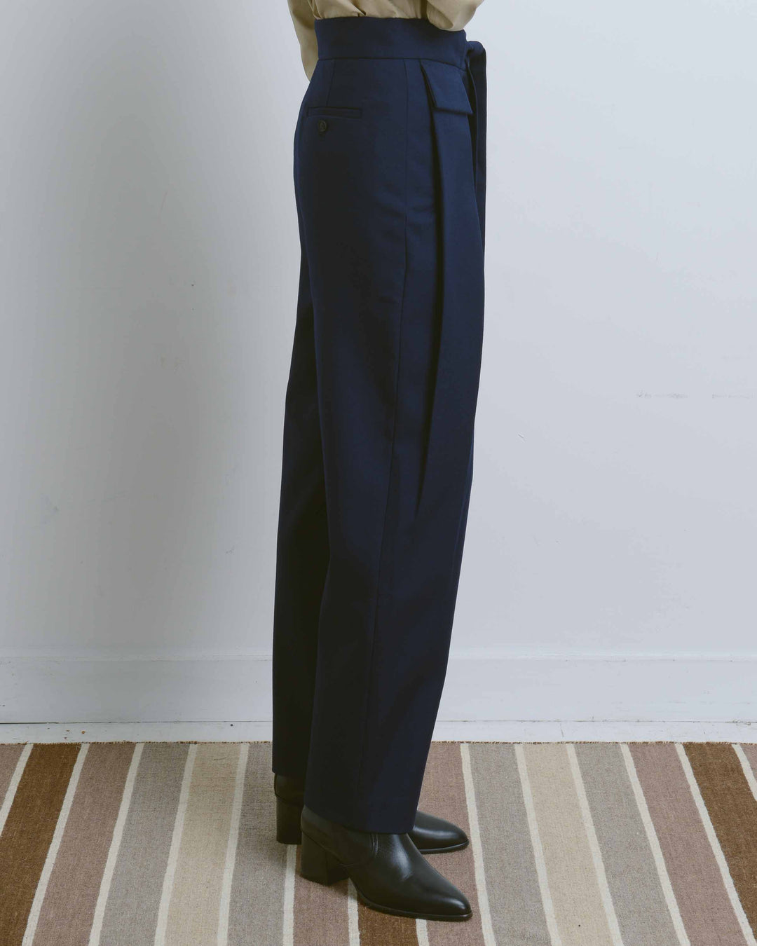 Navy Weekday Trousers