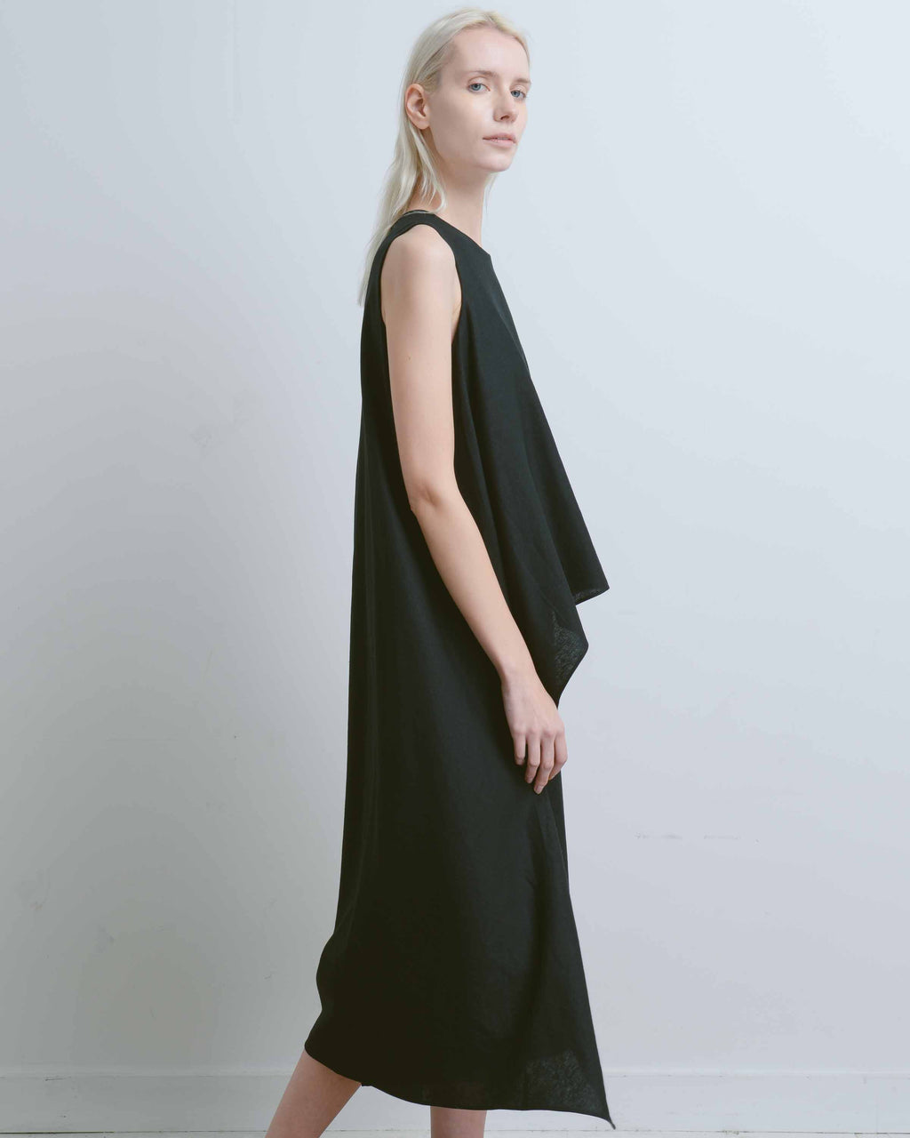 Black Ketal Layered Onesie
