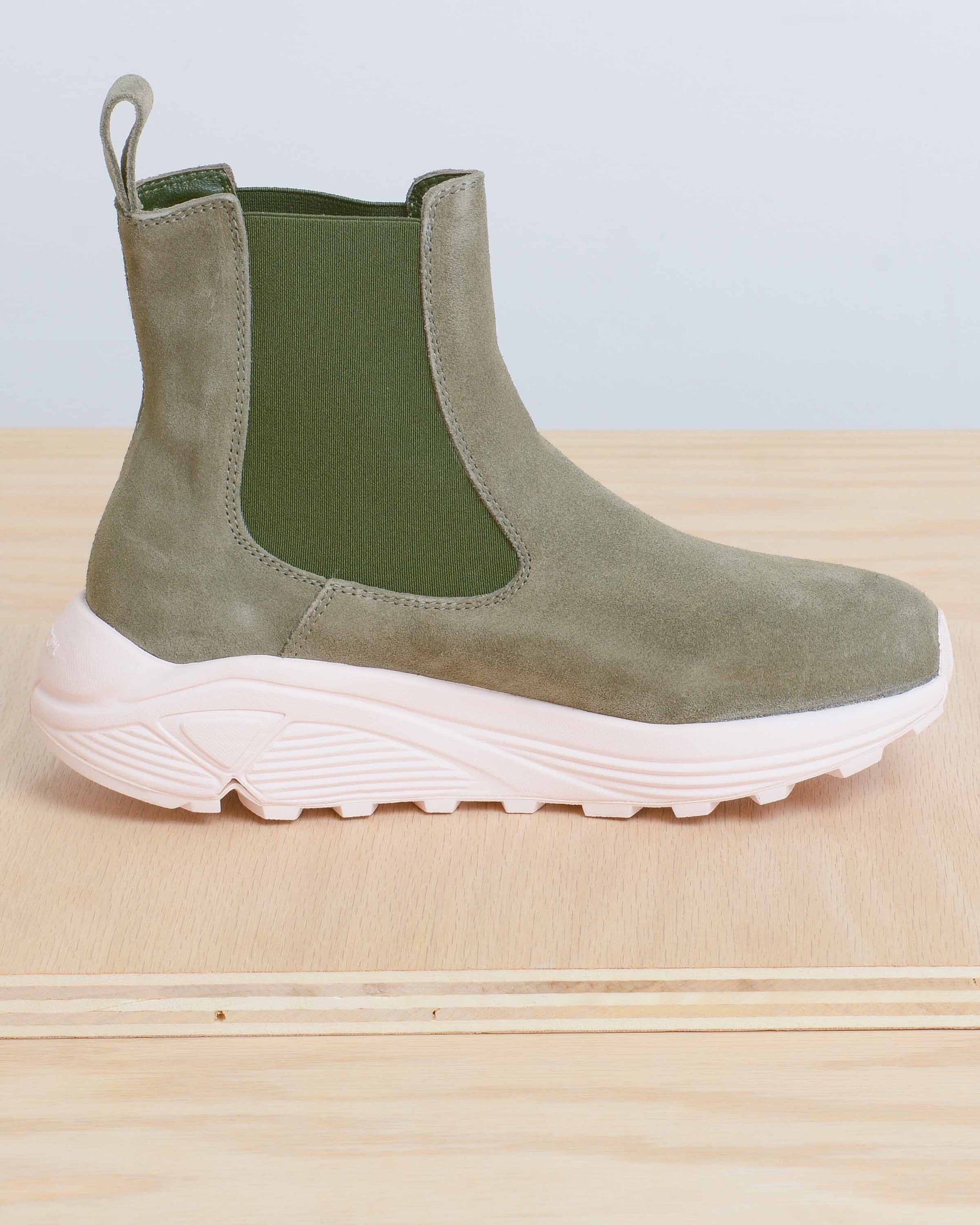Olive Verona Runner Boots