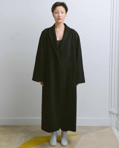 Black Out Seam Long Coat