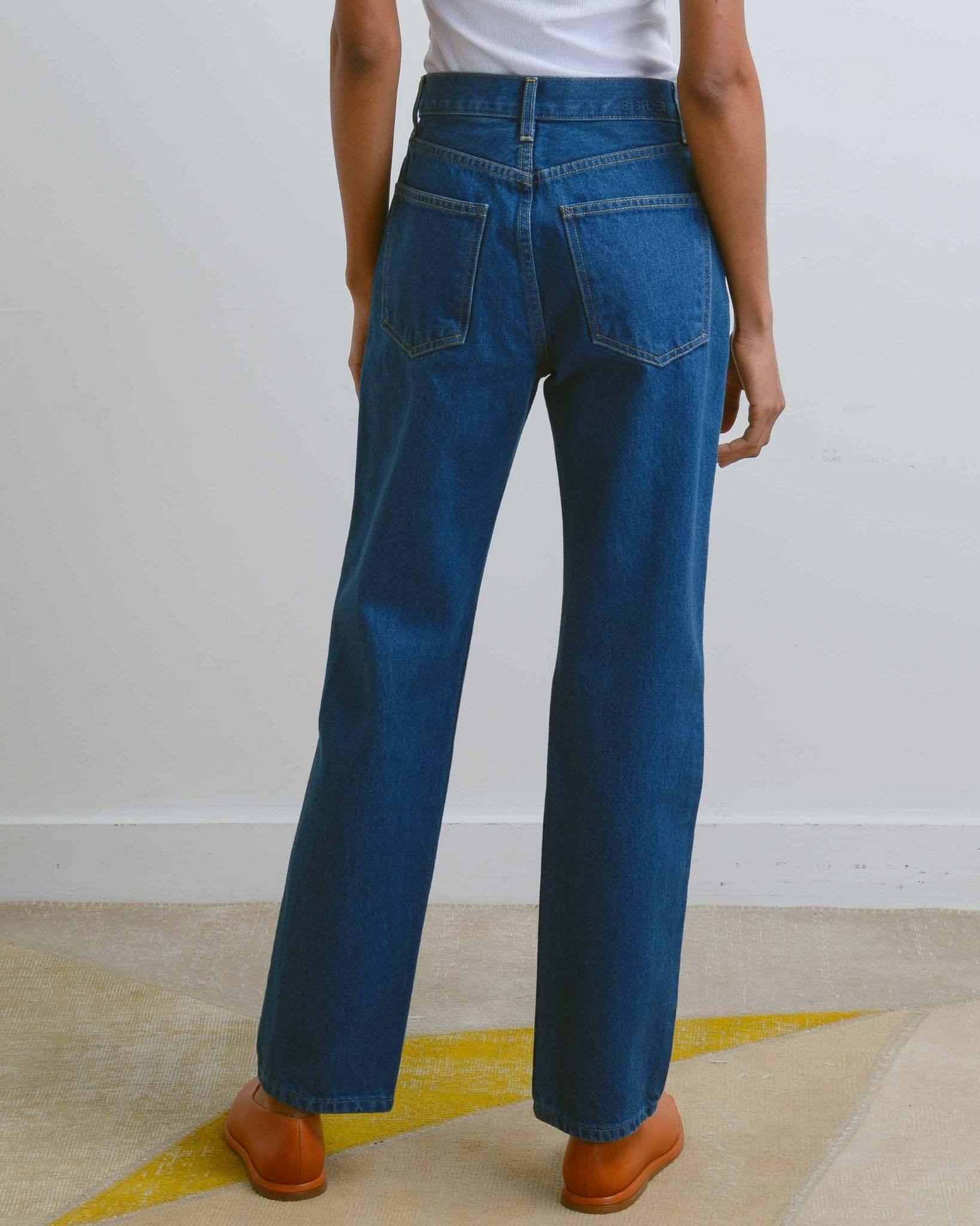 Blue Nancy Arts Straight Denim