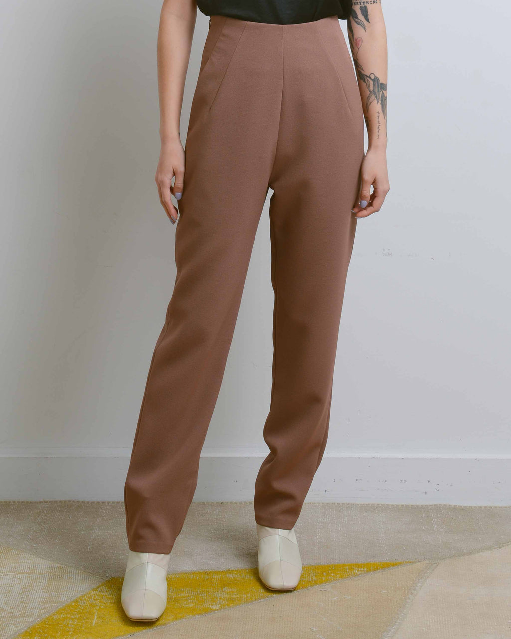 Cacao Sam High-Waisted Pocket Pant