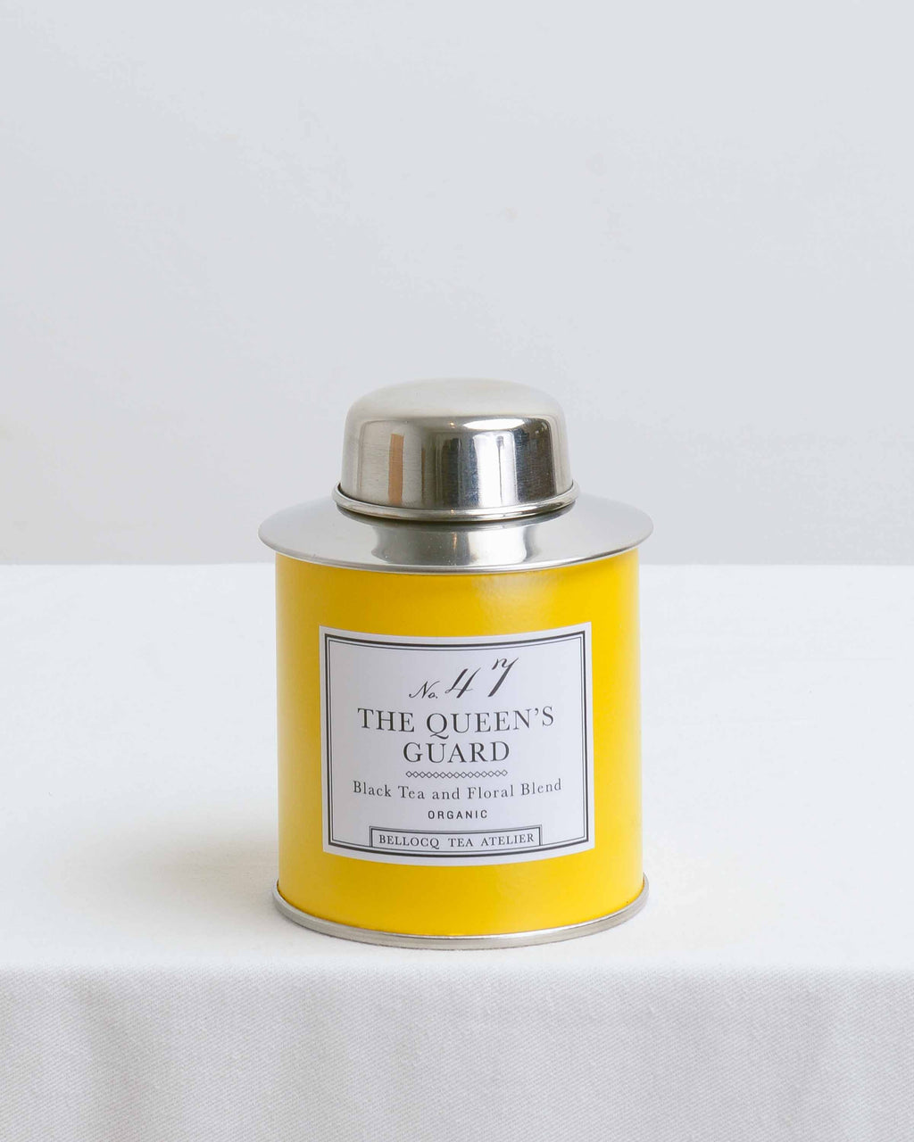The Queen's Guard Yellow Traveler Tea Caddy
