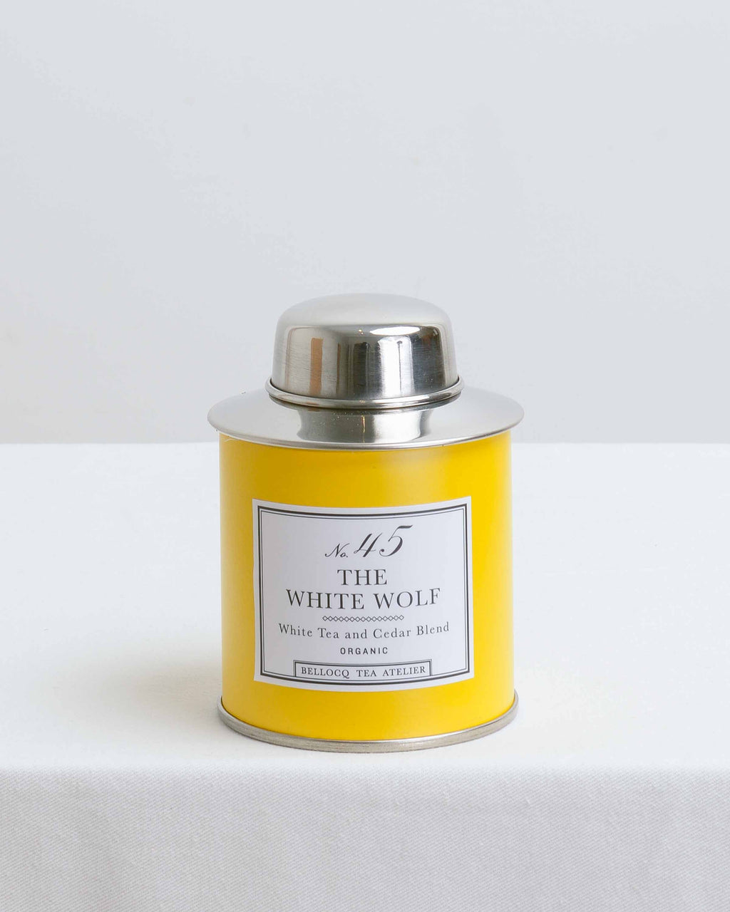 The White Wolf Yellow Tea Caddy