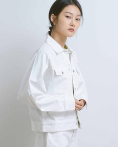 White Denim Formation Jacket
