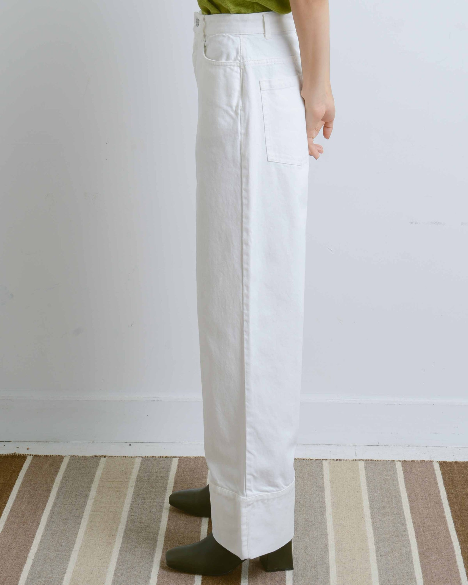 White Denim Stage Pant