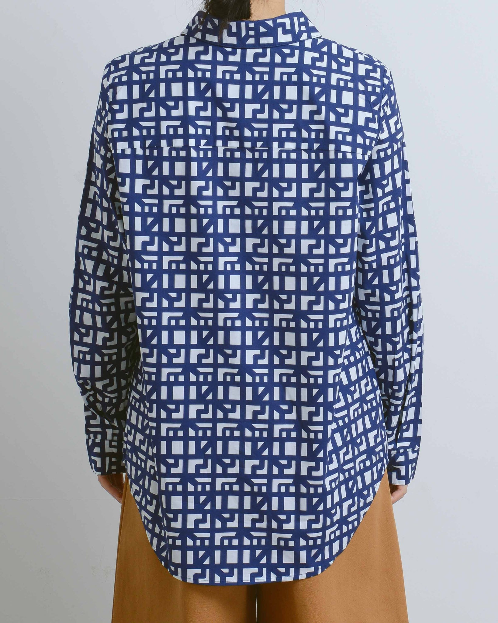 Shadow Print Classic Shirt