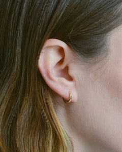14k Gold Fill Ear Hugger Mini Hoops