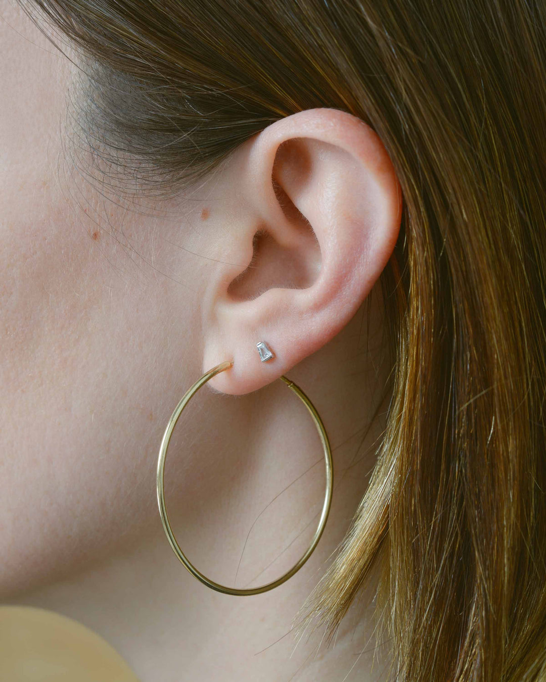 Gold Thin Hoops