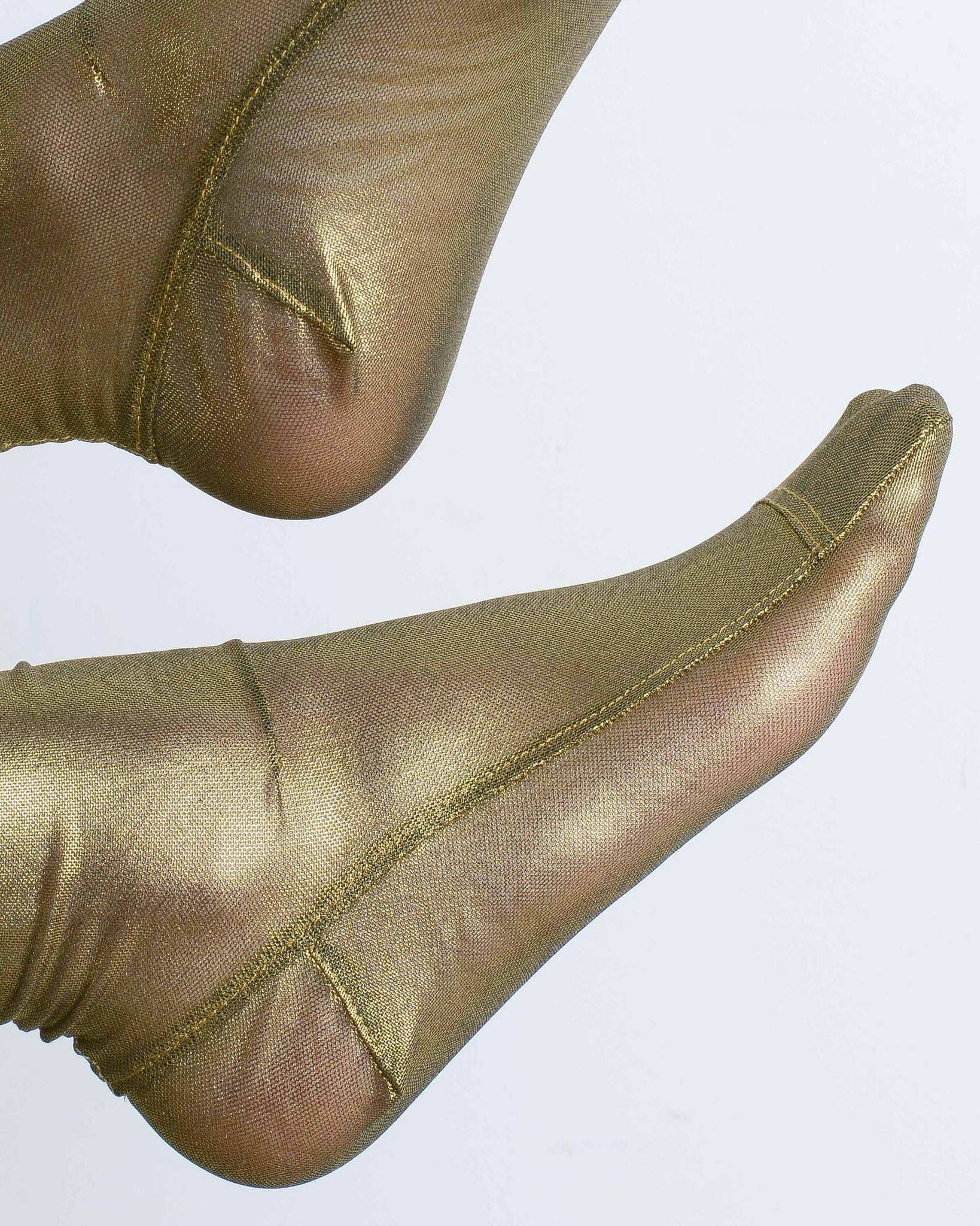 Gold Foil Socks