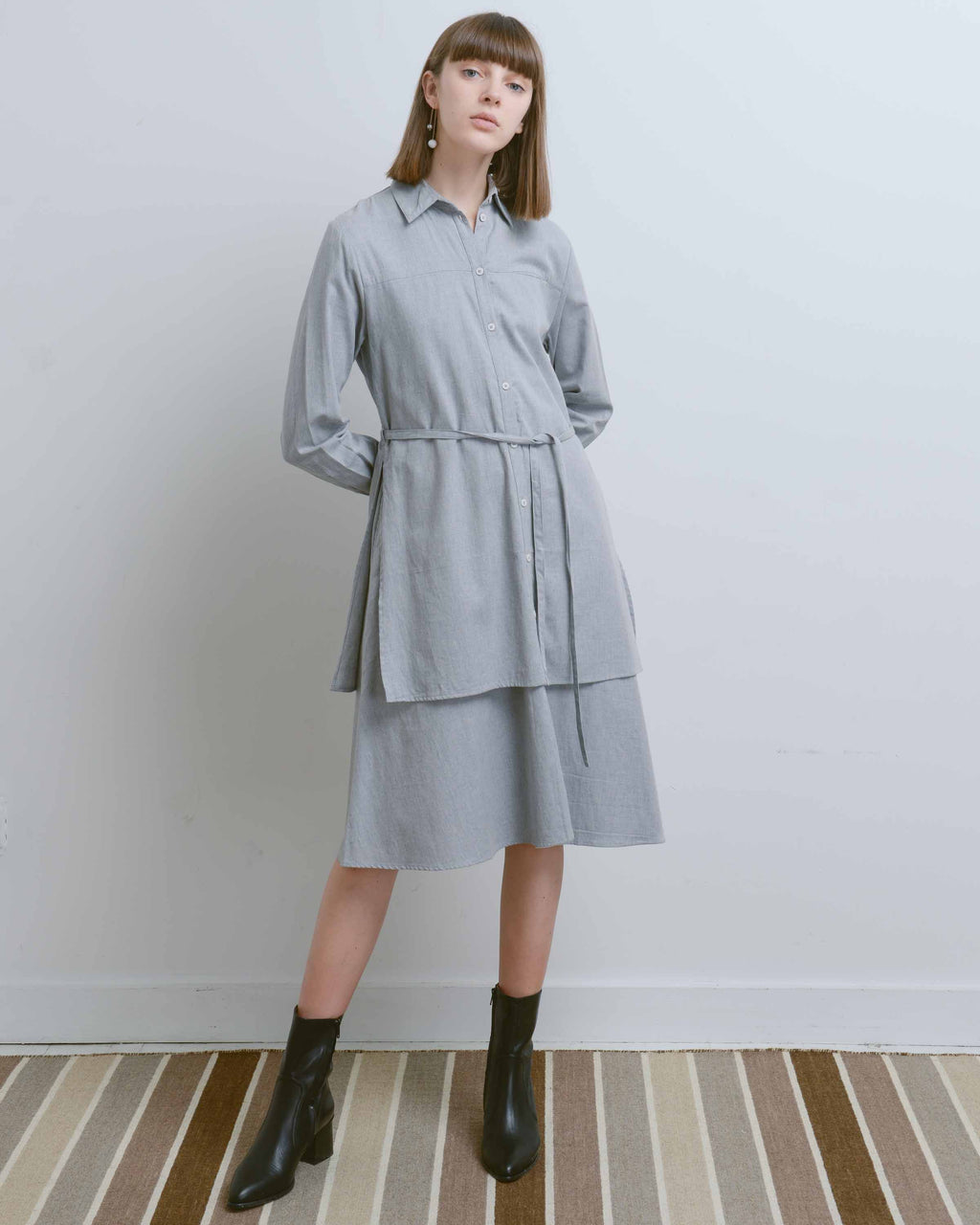 Grey Rhyme Dress