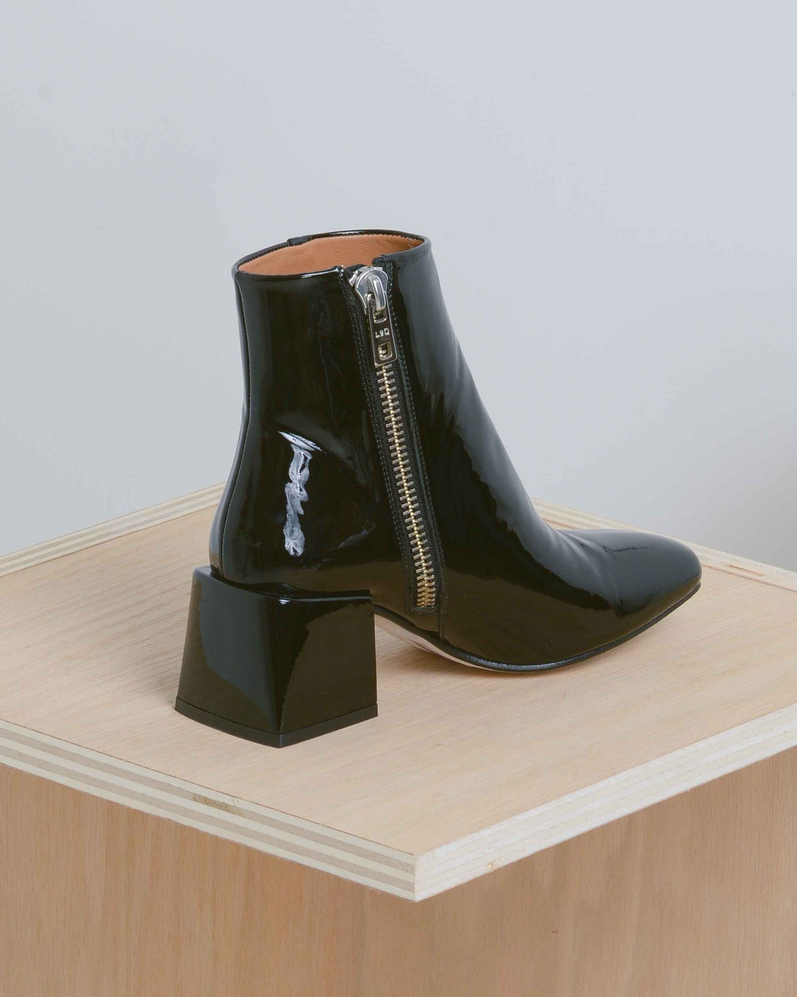 Patent Leather Lazaro Boots