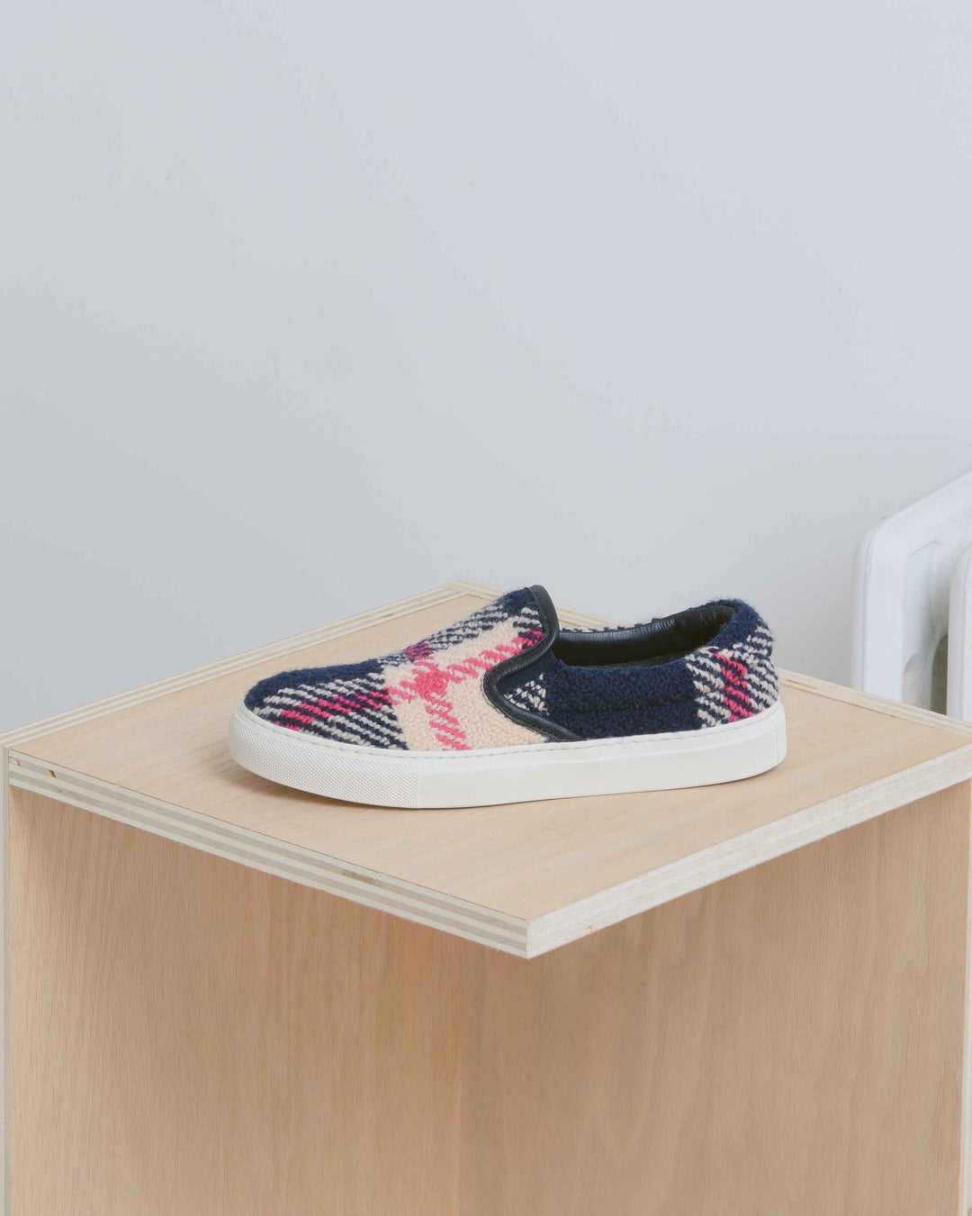 Multicolor Tweed Garda Slip On