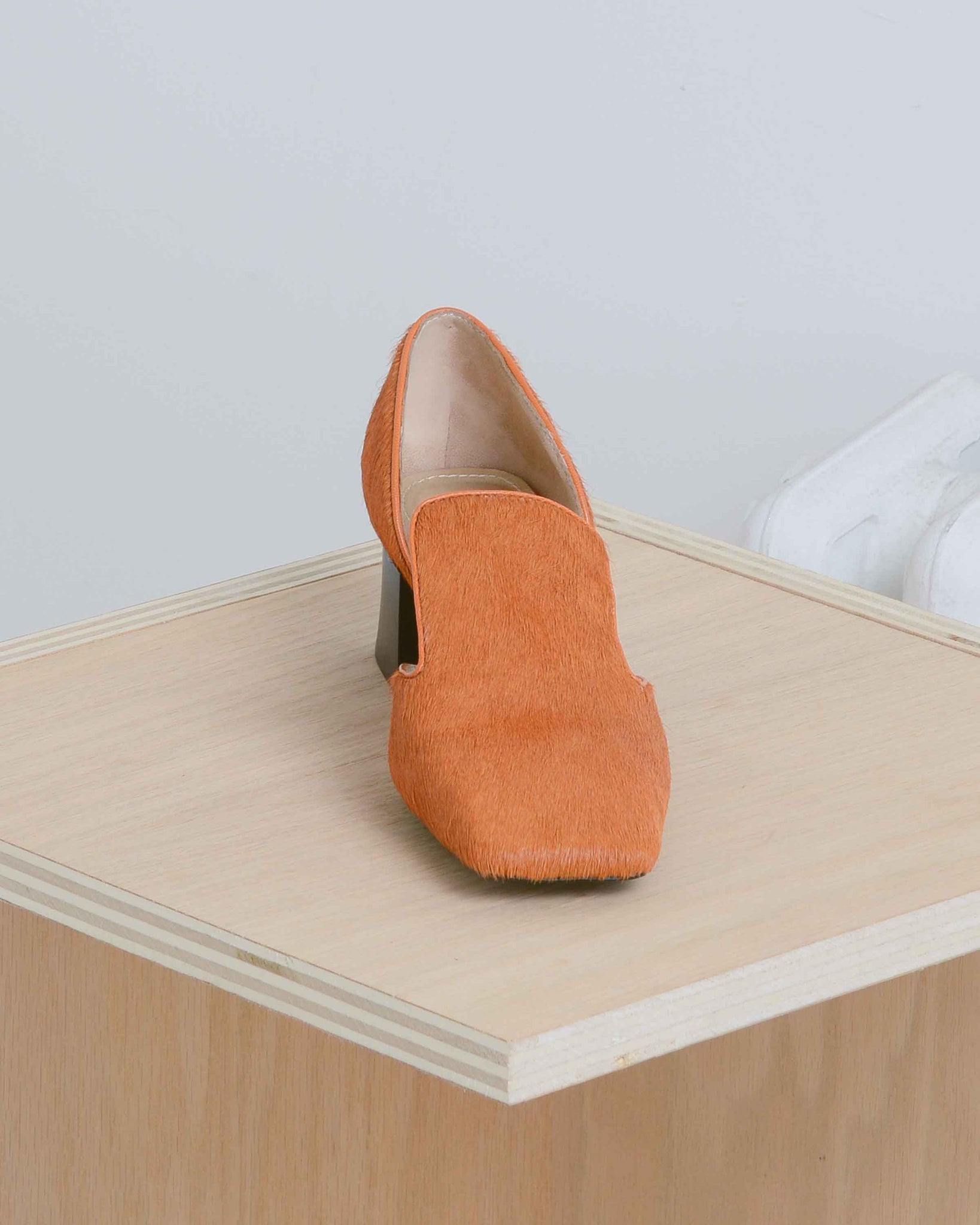 Orange D'orsay Pumps