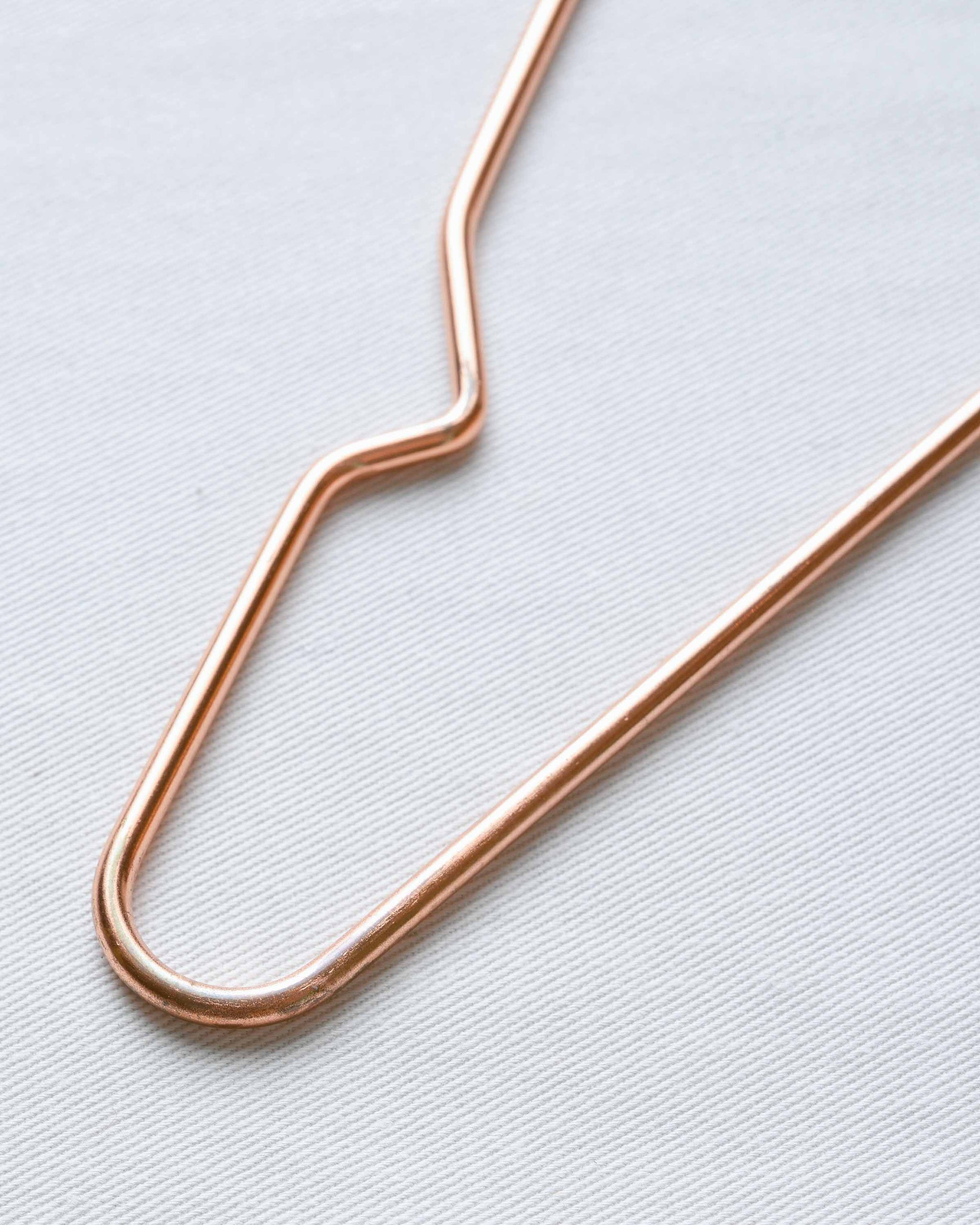 Copper Finish Metal Wire Hanger