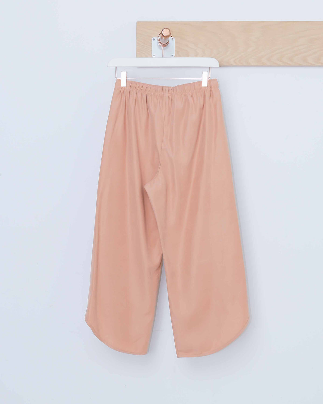 Peach Full Length Overlap Trouser