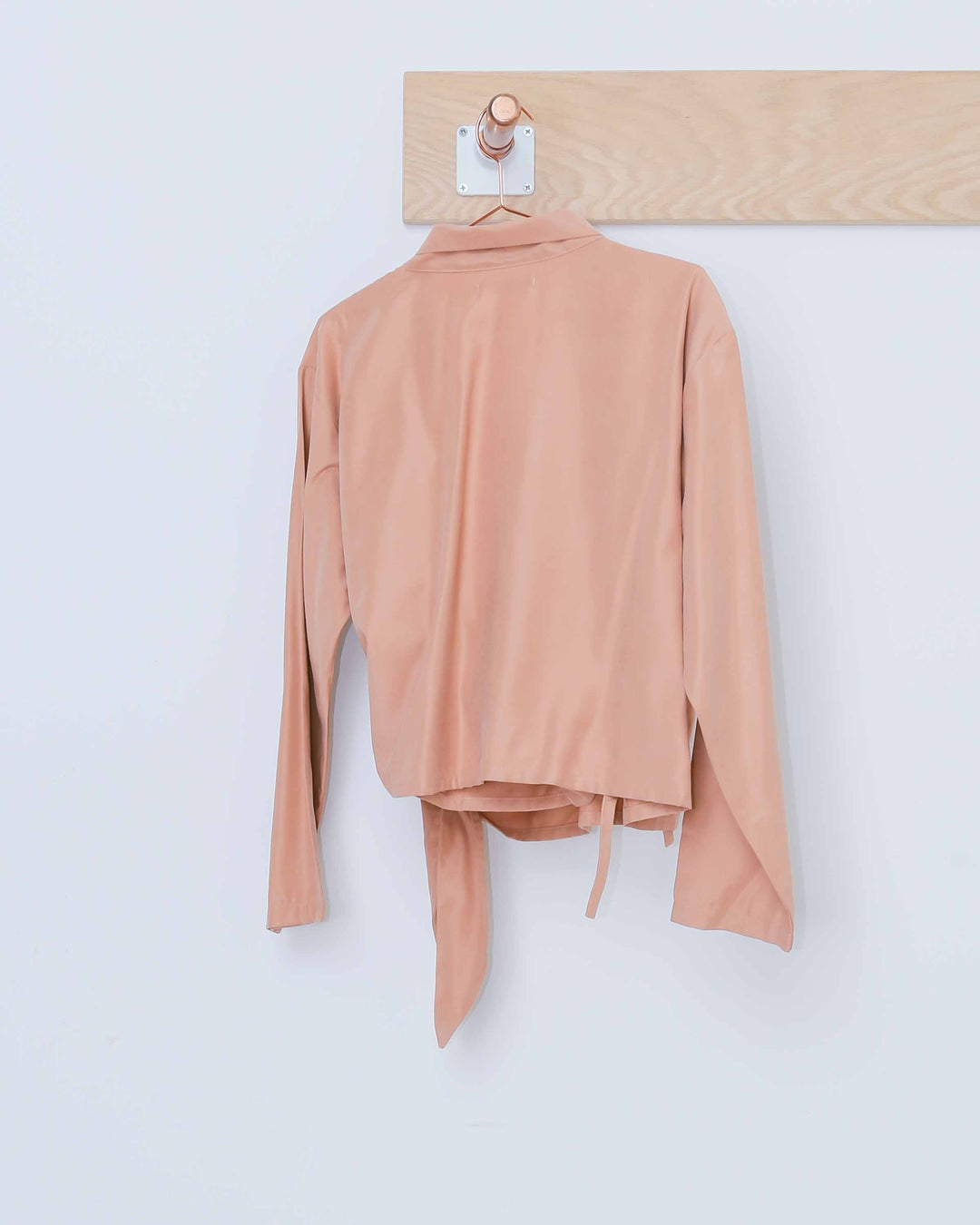 Shawl Collar Wrap Top