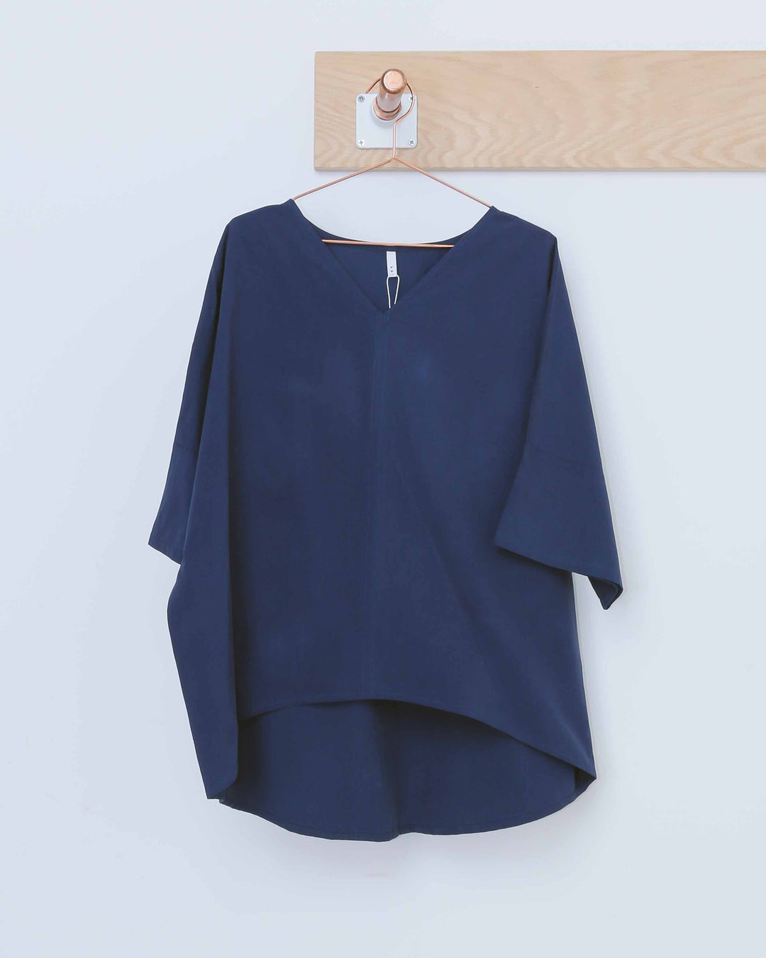 Dolman Sleeve V-Neck Top