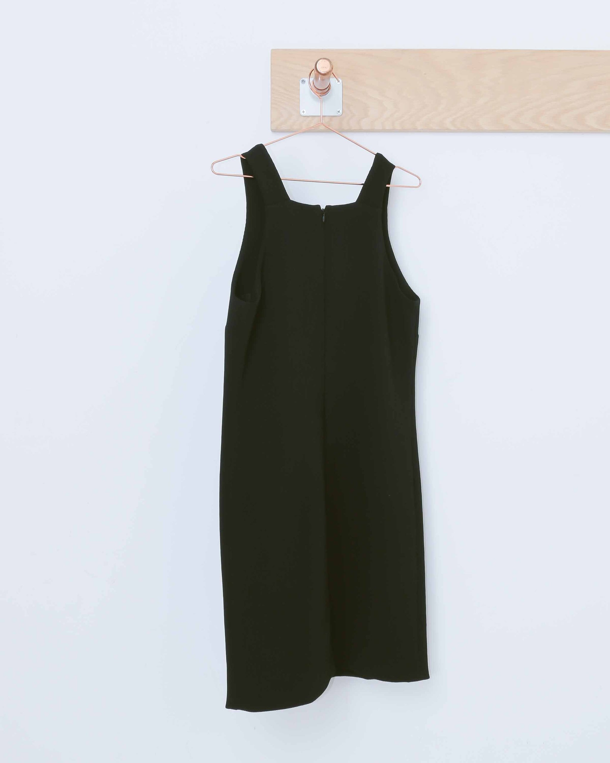 Black Cutout Shift Dress