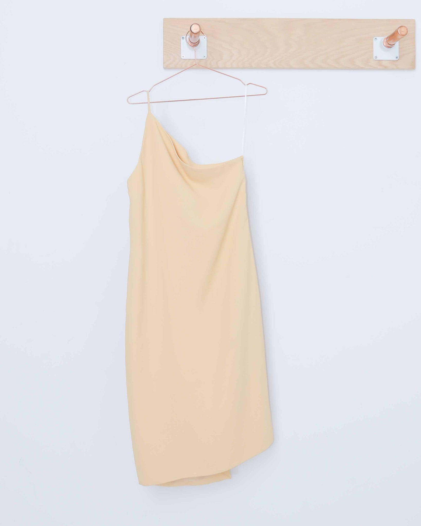 Yellow Peak Dress