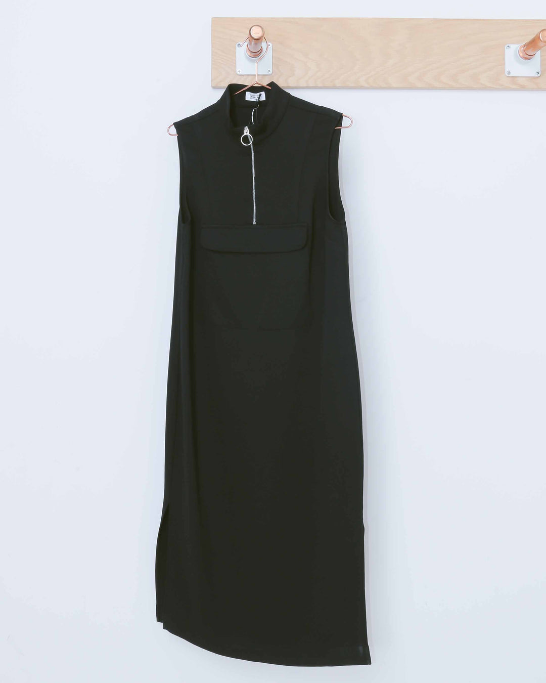 Black Anorak Dress