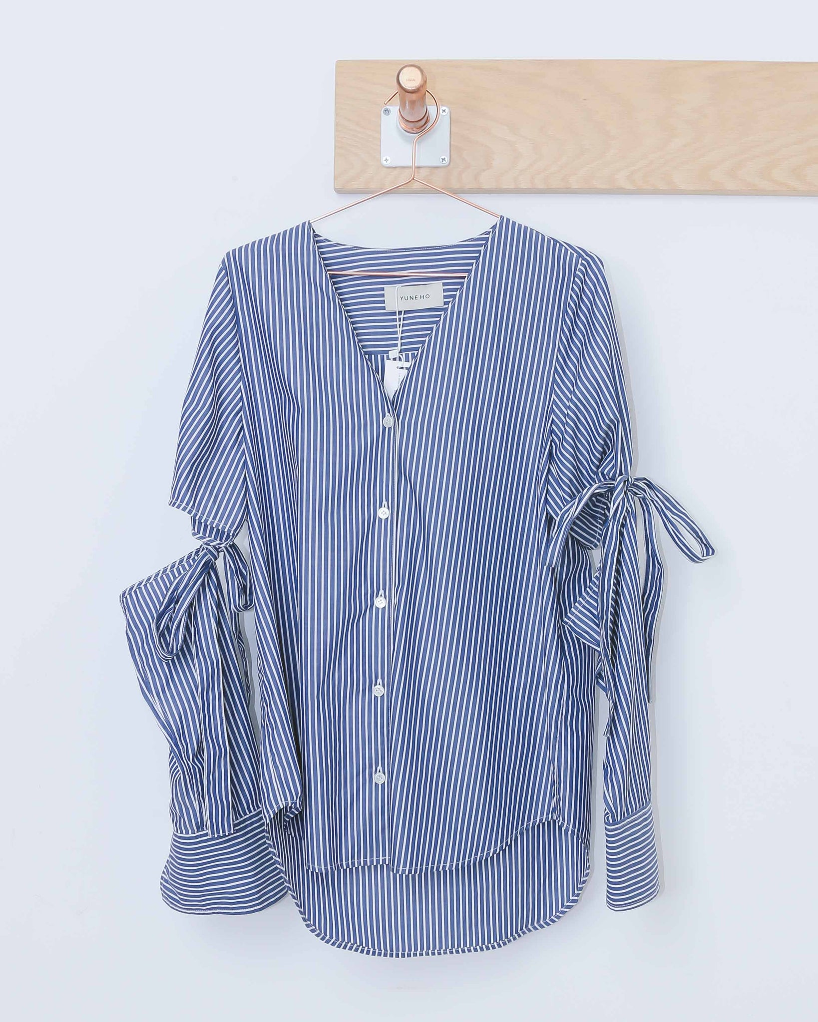 Lia Stripe V-Neck Shirt