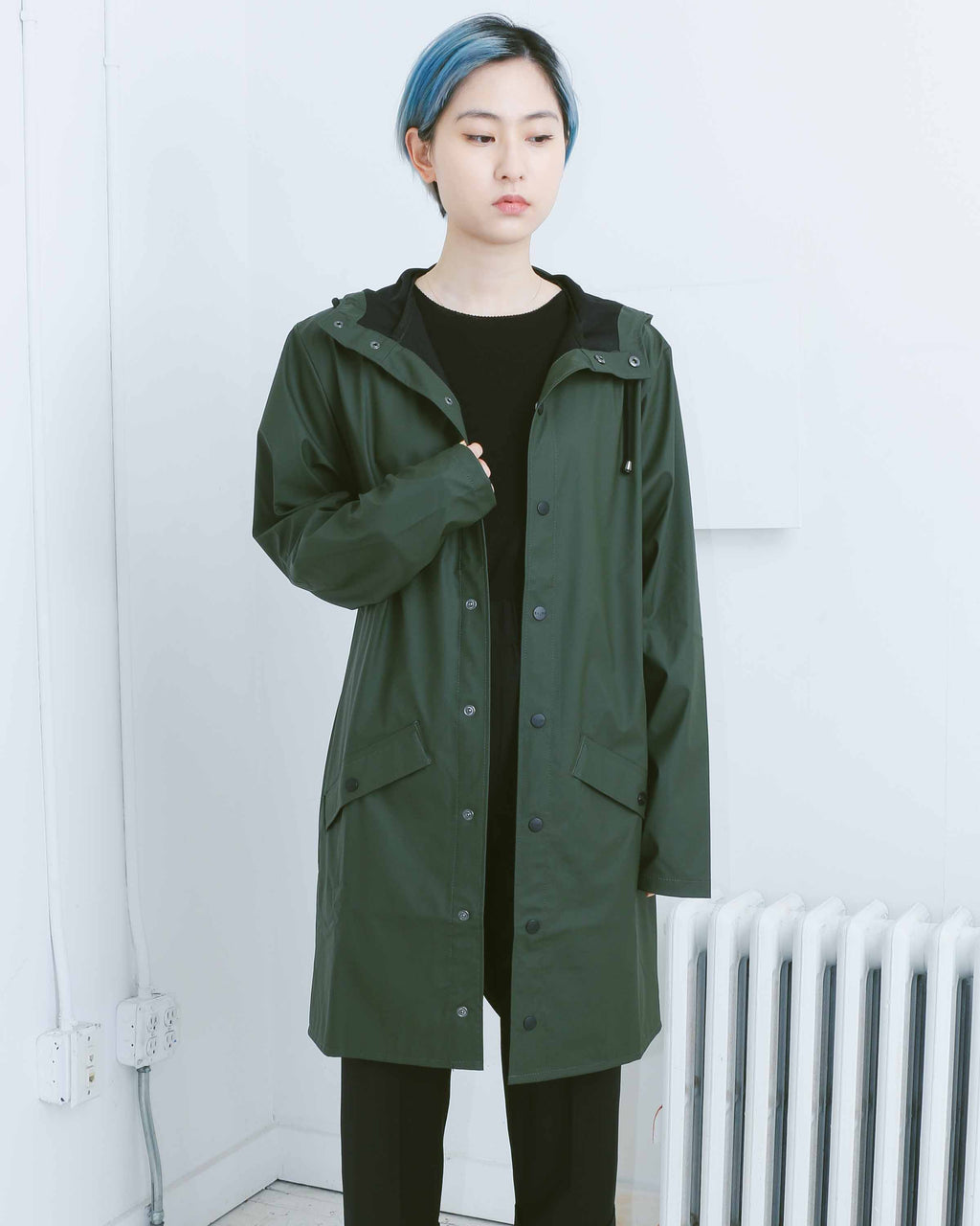 Green Long Jacket
