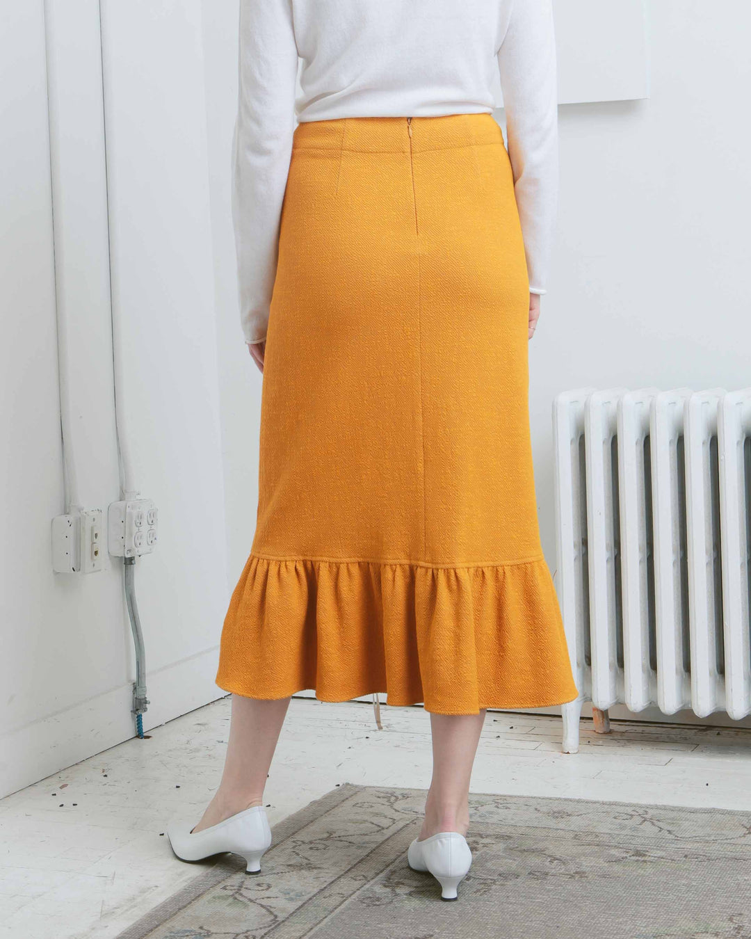 Lili Ruched Skirt