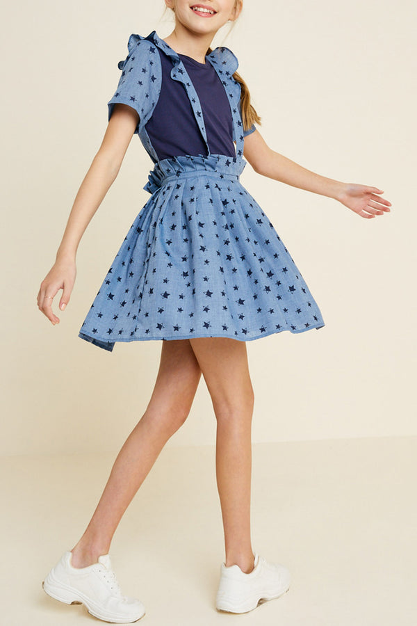 The stars suspender skirt