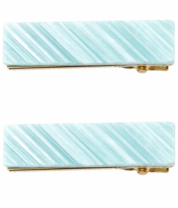 Rectangle Marble Clip