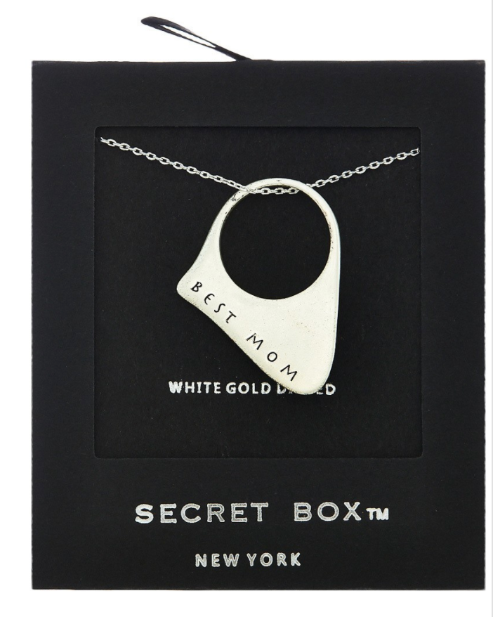 Best Mom Ring Necklace