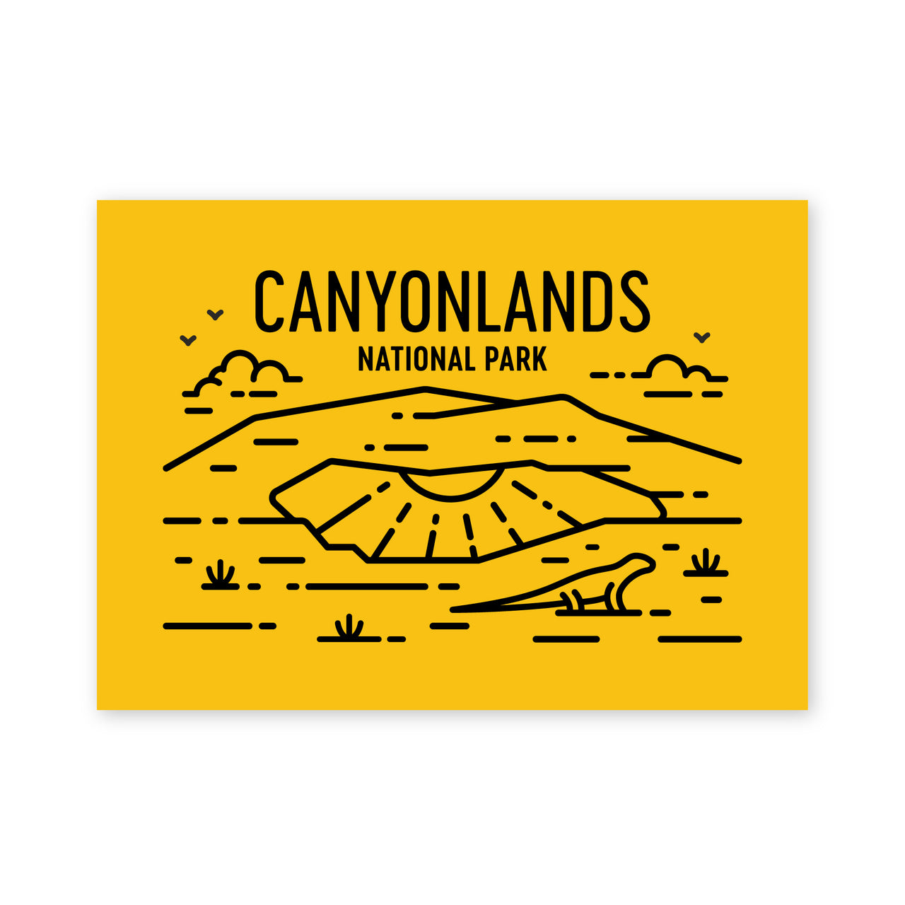 Canyonlands National Park Postcard