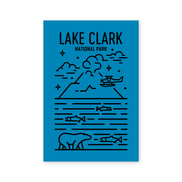 Lake Clark National Park Postcard