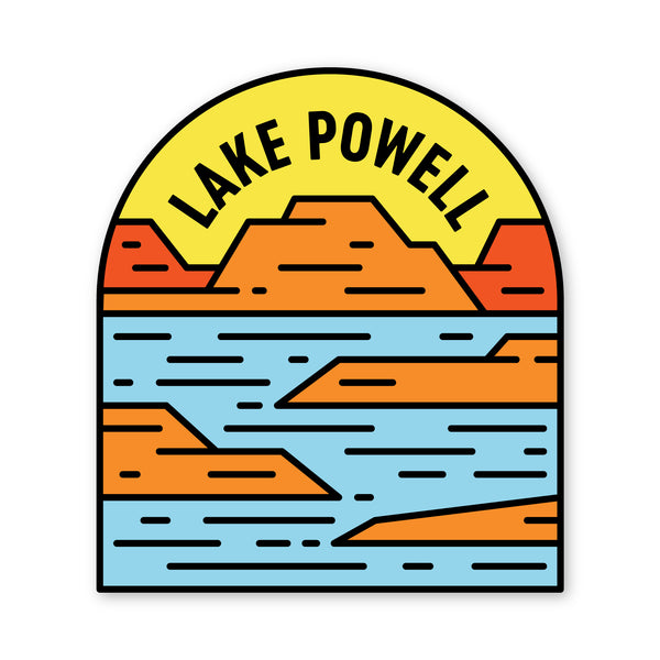 Lake Powell Sticker