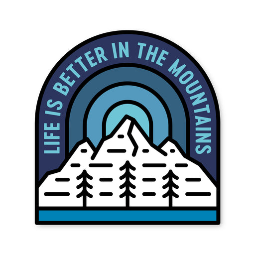 Life is Better Sticker