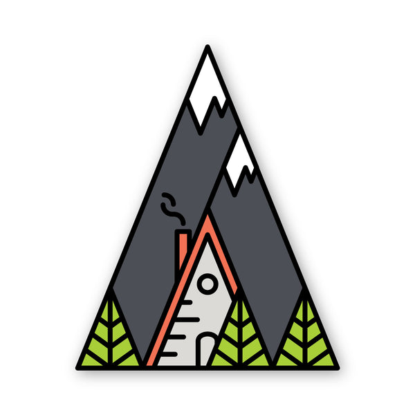 Little Cottonwood Canyon Sticker
