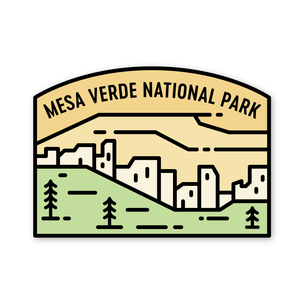 Mesa Verde National Park Sticker
