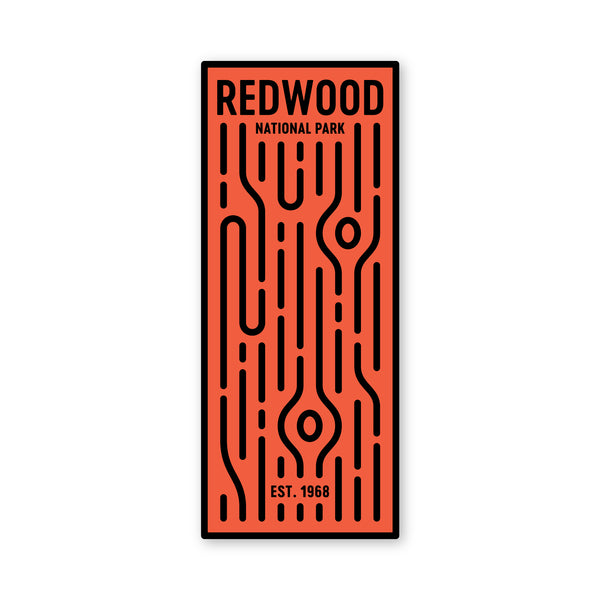 Redwoods National Park Sticker