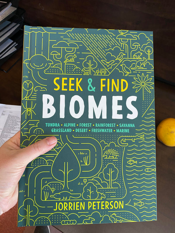 Seek and Find Biomes