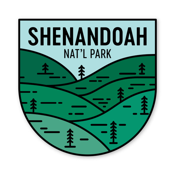 Shenandoah National Park Sticker
