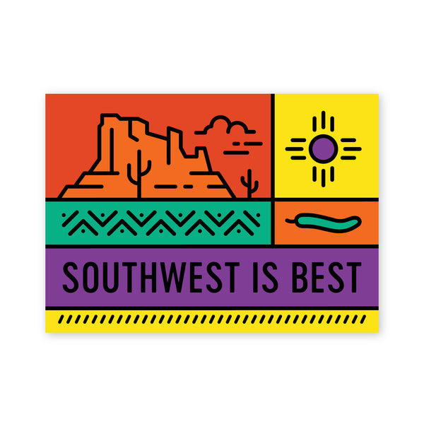 Southwest is Best Postcard