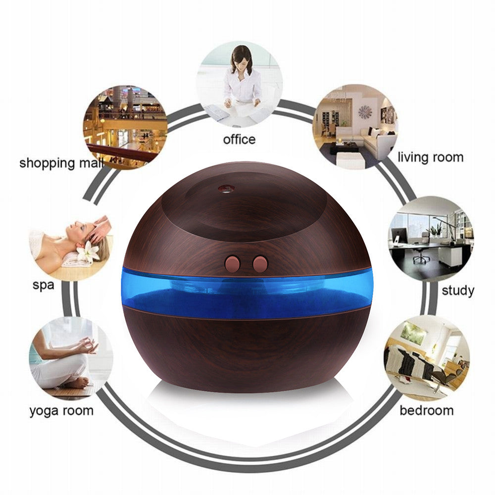 USB Aromatherapy Essential Oils Diffuser